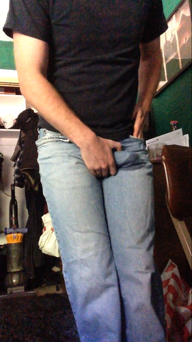 Screenshot for Male Desperate Jeans Wetting
