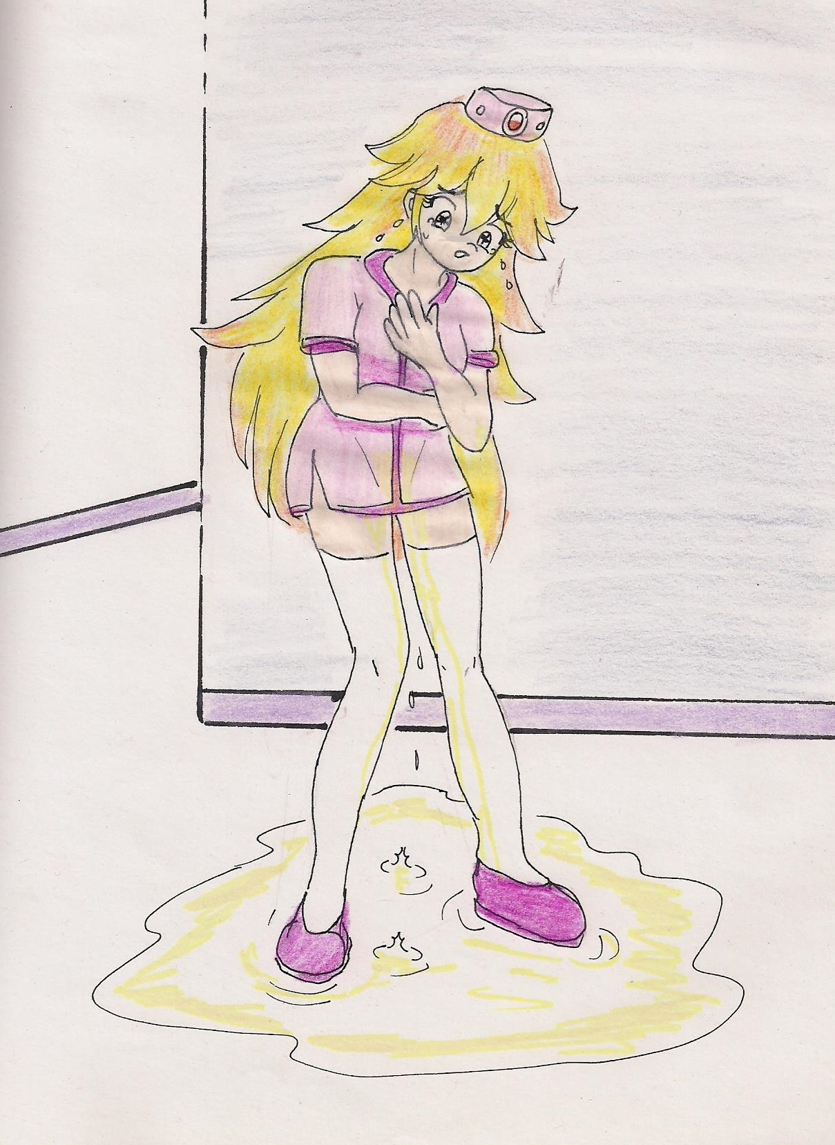 Princess peach and a futa 2