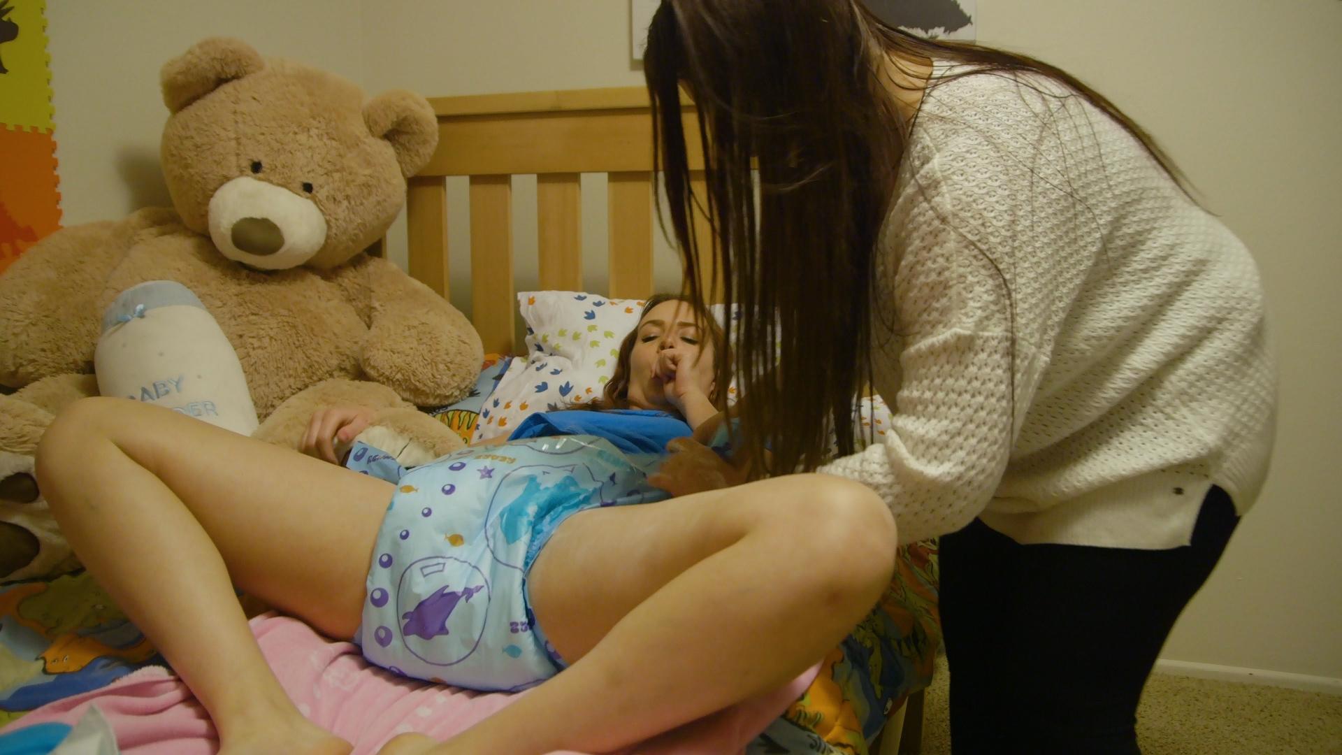 Free diaper girls video community #15