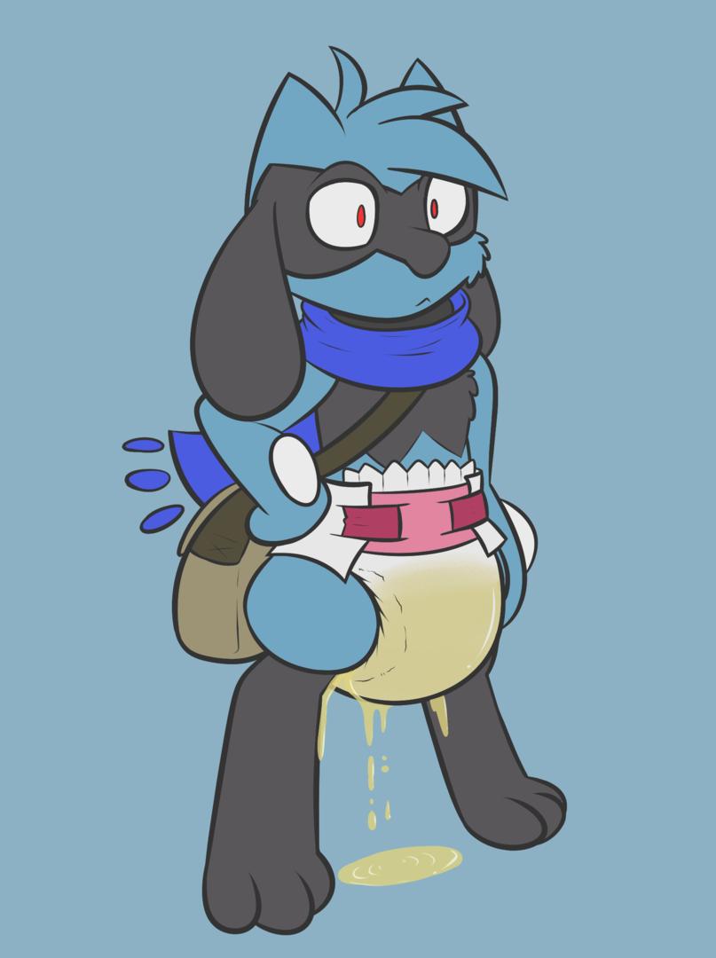 Jasper the Riolu (Leaking)