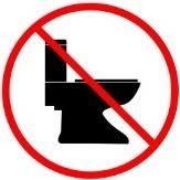 No Toilet